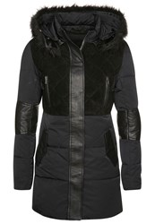Supertrash Onyx Down Coat Black