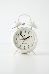 Anthropologie Covent Alarm Clock Cream