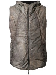 Masnada Padded Gilet Brown