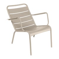 Fermob Luxembourg Low Armchair Nutmeg