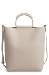 Chelsea 28 Chelsea28 Payton Convertible Faux Leather Tote Grey Grey Flint