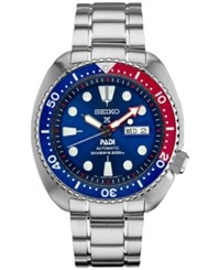 Seiko Men's Automatic Prospex Diver Stainless Steel Bracelet Watch 45Mm Srpa21 Silver