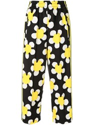 Marc Jacobs Daisy Track Trousers Yellow And Orange