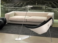 Bover Spock P Floor Lamp Grey White
