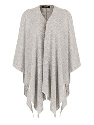 Feverfish Knitted Cape Grey