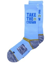 Strideline Men's Kansas City City Socks Blue