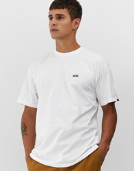 Vans T Shirt With Small Logo In White