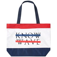 Know Wave Beach Tote Bag Multi