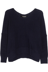Junya Watanabe Chunky Knit Ribbed Cotton Sweater 60 Off Now At The Outnet