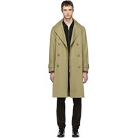 Tiger Of Sweden Tan Cadmen Trench Coat