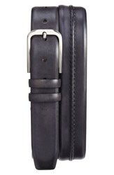 Mezlan Men's 'Naxos' Belt Graphite