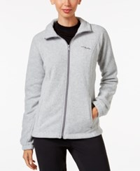 Columbia Benton Springs Fleece Jacket Light Grey Heather