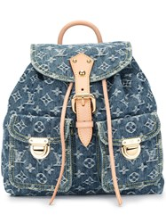 Louis Vuitton 2006 Pre Owned Sac A Dos Gm Backpack Blue