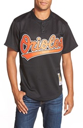 Mitchell Ness 'Cal Ripken Jr. Baltimore Orioles' Authentic Mesh Bp Jersey Black