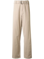 J.W.Anderson Jw Anderson Belted Straight Leg Trousers 60