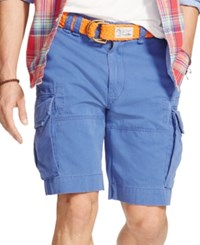 Polo Ralph Lauren Relaxed Fit Chino Cargo Shorts Navy