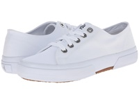 Lauren Ralph Lauren Jolie White Solid Canvas Women's Lace Up Casual Shoes