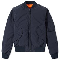 Aspesi Bomber Jacket Blue