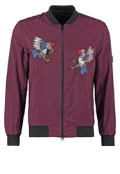 Religion Bomber Jacket Oxblood Bordeaux