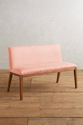 Anthropologie Linen Emrys Bench Pink