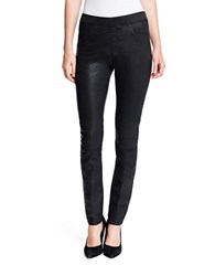 1.State Lacquered Twill Leggings Rich Black