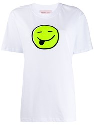 Natasha Zinko Smiley Print T Shirt 60