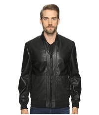 Marc New York Edison Bomber Jacket Black Men's Coat