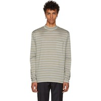 Lanvin Multicolor Long Sleeve Striped T Shirt