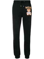 Moschino Toy Print Joggers Black