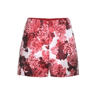 Moncler Gamme Rouge Jacquard Shorts Flower Red
