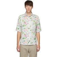 Noon Goons White And Pink Prom Shirt