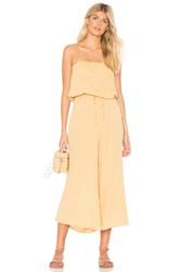 Blue Life Bell Jumpsuit Yellow