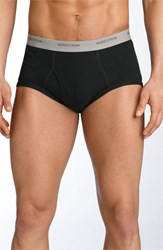 Nordstrom Men's Big And Tall Men's Shop 4 Pack Supima Cotton Briefs Black Navy Grey
