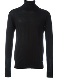 Dsquared2 Classic Turtleneck Black
