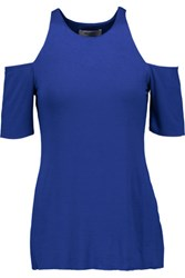 Bailey 44 Talladega Cutout Stretch Jersey Top Royal Blue