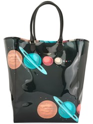 Undercover Planets Tote Bag Black