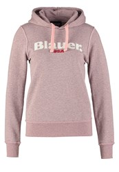 Blauer Hoodie Brick Orange Roasd Melange