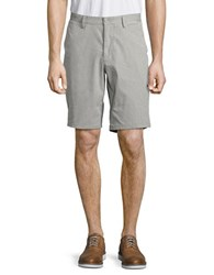 Hugo Boss Clyde Pinstriped Chino Shorts Black