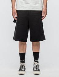 Public School Durero Shorts With Herringbone Tape Details