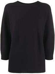 Peserico Crew Neck Relaxed Fit Jumper 60