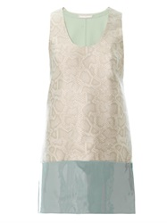 Richard Nicoll Snake Effect Jacquard Shift Dress