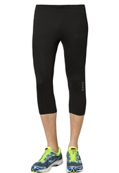 Gore Running Wear Essential Tights 3 4 3 4 Sports Trousers Black