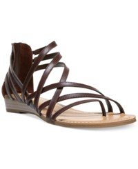 Carlos By Carlos Santana Amara Flat Sandals Women's Shoes Pecan Pie