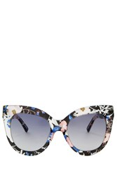 Erdem X Linda Farrow Acetate Sunglasses