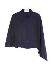 Lemaire Asymmetric Cotton Cape Shirt
