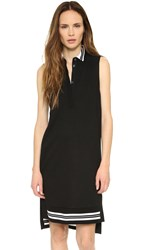 Public School Sleeveless Polo Dress Black