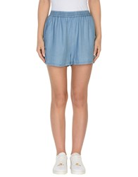 Tommy Hilfiger Denim Denim Shorts Blue