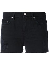 Blk Dnm Ripped Denim Shorts Women Cotton 28 Black