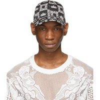 Dolce And Gabbana Black White Dg Crown Cap
