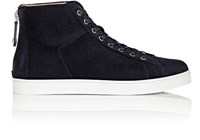 Gianvito Rossi Men's High Top Sneakers Navy